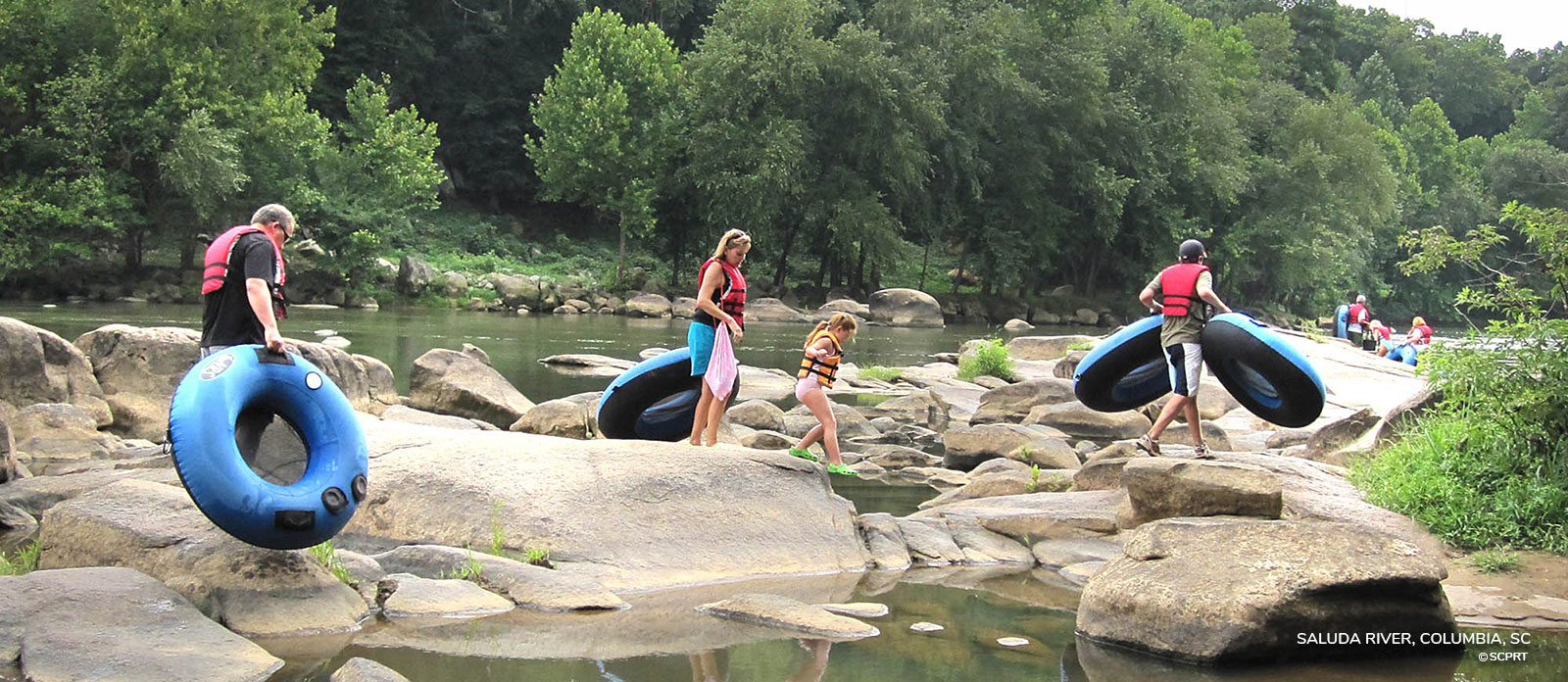River tubing in SC